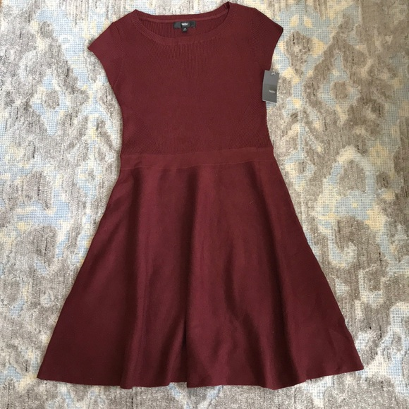 a17c09a5246a Mossimo Supply Co. Dresses | Mossimo Ribbed Fit Flare Dress Nwt Sz L ...